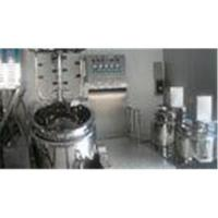 100L Tilting Vacuum Homogenizing Emulsifier For Pharmaceutical / Cosmetic / Food Industry