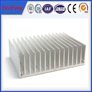 Hot! OEM aluminum profile extrude fin, extruded aluminum heatsink profile for lighting Manufactures