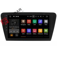 10.1 Inch 1024*600 Android Car Navigation System Skoda Octavia Car Stereo Bluetooth 4.0 Manufactures