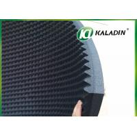 EPDM Material Acoustic Foam Panels For Soundproofing / Reducing Noise 50mm Black Manufactures