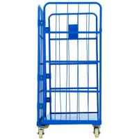 A Frame Secure Nestable Roll Containers 300 - 500KG Loading Capacity