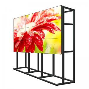 Anti Glare Surface Monitor Para Video Wall / Multi LCD Display 500 Nits Manufactures
