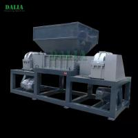 Heavy Structure Metal Shredder Machine 30KW Replaceable Shredding Cutter Manufactures
