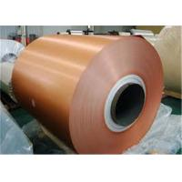 China Embossed Painted Aluminium Coil , Weather Resistance Aluminum Siding Coil on sale