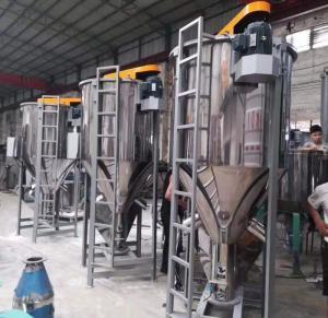 China Resin Pellets Plastic Granules Material Plastic Resin Mixer Machine on sale