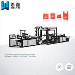 China High Output Non Woven D Cut Bag Making Machine / Box Bag Making Machine on sale
