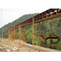China Metallurgy Carbon Steel Belt Conveyor Easy Maintenance With ISO Certificate on sale