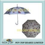 Aluminum Auto Straight Umbrella with Logo Printing(WT5038) Manufactures