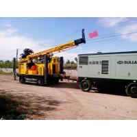 Reverse Circulation Rotary Drilling Rig Machine With CUMMINS Engine 0 - 80 Rpm Rotation Speed Manufactures