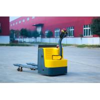 China Small Industrial Pallet Truck With Battery 1500kg Good Security Protection on sale