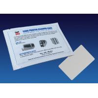 Consumables Currency Counter Cleaning Cards CR80 With ISO9001 Certification Manufactures