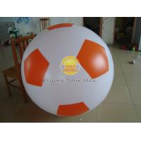 Durable 0.18mm PVC Sports Football Balloons with No Printing for Entertainment events Manufactures
