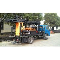 200m Depth 10.5 - 24.6bar KW20 Truck Mounted Water Well Drilling Rigs CE Manufactures