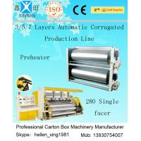 High Speed 3 / 5 / 7 Ply Corrugated Carton Packing Machine With Steam Heating System