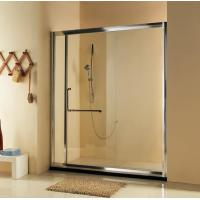 China Hot sell self-cleaning Bathroom Sliding Shower Doors /Frameless Glass Shower Door on sale