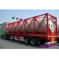 High Strength Stainless Steel 40ft ISO Liquid Tank Container For Chemical Shipping Manufactures