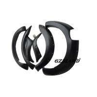 Pickup Trucks Wheel Arch Flares Trims For  Ranger 2015 - 2016 Textured Black Manufactures