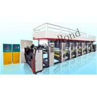 160 m / min Eight Colors Industrial Printing Machines 17800*2500*2900mm Manufactures
