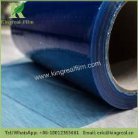 Easy Peel off Blue Color 0.03mm-0.20mm Thickness PE Floor Protector Film Manufactures
