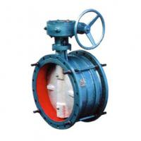 Double Flange Butterfly Valve EPDM Lined Manufactures