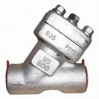 Forged Steel Y Type Check Valve with SW/NPT Ends Manufactures