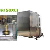 Large Saw Blade Industrial Ultrasonic Cleaning Machine 540L Continuous Operation