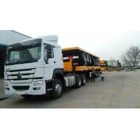 China White Color Prime Mover Truck / 371hp Hw76 Cabin 6x4 Tractor Truck Sinotruk Howo7 on sale