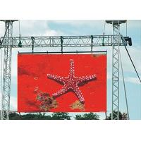 China Die Casting Aluminum Thin large led display board 2400hz Refresh rate on sale