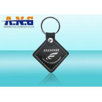 Quality Smart Customize Rfid Key Fob programming,Leather Vehicles / Door rfid key chain for sale
