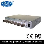 Real Time HD CCTV Color Quad Processor For Vehicle Car Automotive Manufactures
