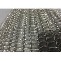 Buy cheap Glass Annealing Balanced Weave Conveyor Belts Corrosion Resistance Friction from wholesalers