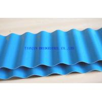 China SGCC Galvanized Corrugated Steel Sheet Panel, Hot Dip Galvanized Color Coated Roofing Sheets on sale