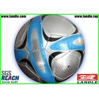 China Personalized Official Size Football Soccer Ball For Promotional , Waterproof on sale