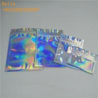 Buy cheap Three Side Seal Foil Pouch Packaging , Small Cosmetic Stand Up Bags With Zipper from wholesalers