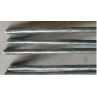 Hardened All Thread Rod Bar Grade 4.8 Cutting Spiral Grooved Surface Anti Corrosion Manufactures