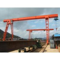 Electric Hoist Single Beam Gantry Crane , 3-20T MH Model Steel A Frame Gantry Crane Manufactures