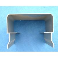 2mm thick Cooling pad system bottom aluminum profile for supporting bottom Manufactures