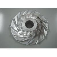 China CNC Machining Stainless Steel Valve Pump Components Impeller Castings Stable on sale