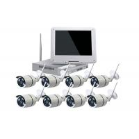 Waterproof Wireless 8 Channel Cctv Kit With NVR For Industrial Buildings Manufactures