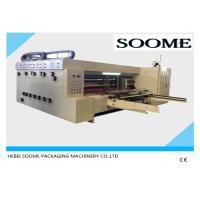 High Speed Corrugated Flexographic Printing Machine Die Cutting Slotting Machine 2 Colors Manufactures
