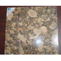 Quality Golden Yellow granite tile Giallo Fiorito for sale