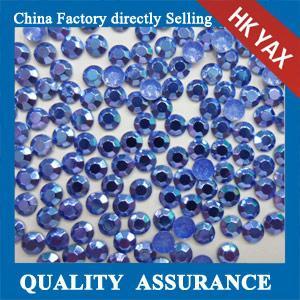 Buy cheap Koren transfer Octagon Iron on Rhinestud,aluminum octagon Clothing hotfix studs  0825 from wholesalers