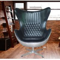 Aluminium Rivited Back Aviator Egg Chair Hand Crafted Hotel chair Manufactures