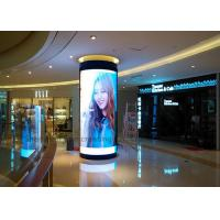Good View Indoor P3 Custom LED Display Full color Curved Led Sign Module in Shopping Center Manufactures