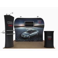 Buy cheap 20 Feet Tension Fabric Exhibition Stands Fabric Tube Display Weather Resistant from wholesalers