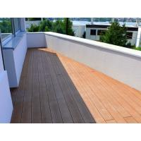 Anti - UV / Anti - Slip Brown WPC Deck Flooring For Balcony And Decoration Manufactures