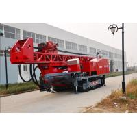 The maximum drilling depth1500m Top Drive Rig Oilfield workover Drilling Rig With Crawler Mounted Manufactures