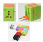 Worldwide Micro Travel Power Adapter  , Universal USB Travel Adaptor 60X55X45 MM Manufactures
