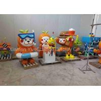China Home Decoration Gift Fiberglass Cartoon Characters With Painting Surface on sale