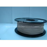 Quality 0.8KG / roll 3D Printer 1.75mm Wood Filament Material Compatible With Makerbot / for sale